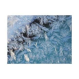 Toile Premier art photographique dur de Frost