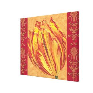 Toile Puissance I de tulipe