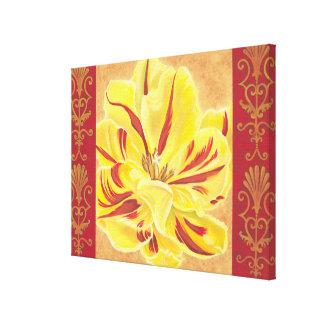 Toile Puissance II de tulipe