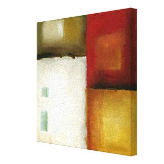 Toile Quatre rectangles colorés par Chariklia Zarris