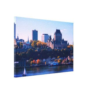 Toile Québec en automne