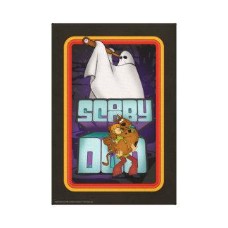 Toile Recherche de fantôme de Scooby-Doo | hirsute et