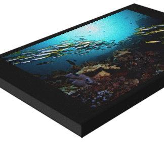 Toile Récif coralien de l'Indonésie