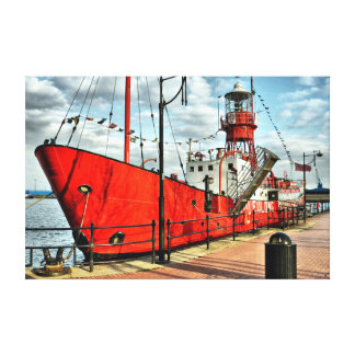 TOILE RED SHIP