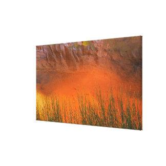 Toile Réflexion en canyon de gorge du canyon | de