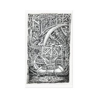 Toile Réservoir de tentacule par Brian Benson