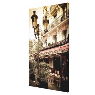 Toile Restaurant de rue, Paris, France