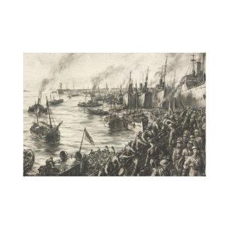 Toile Retournez de Dunkerque