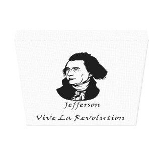 Toile Révolution de Thomas Jefferson - de La de Vive
