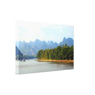 Toile Rivière de Li, Chine