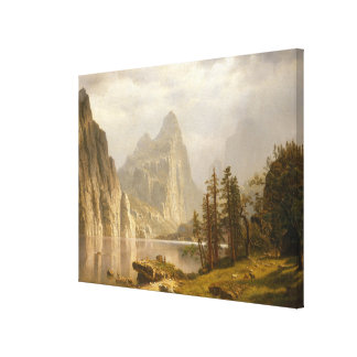 Toile Rivière de Merced, vallée de Yosemite