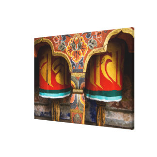 Toile Rôle de prière bouddhiste, Bhutan