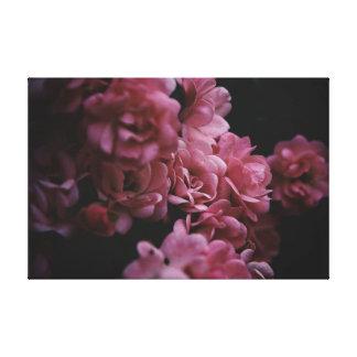 Toile Roses darker