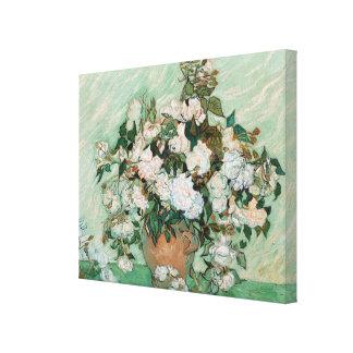 Toile Roses de Vincent van Gogh  , 1890