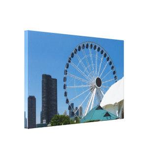 Toile Roue de Ferris centennale