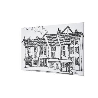 Toile Rue d'achats | Gordes, au sud de la France