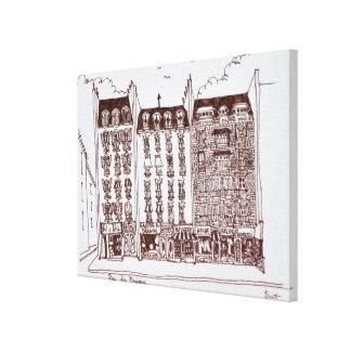 Toile Rue du Dragon, Saint-Germain-DES-Pres, Paris