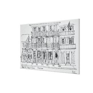 Toile Rue royale, quartier français | la