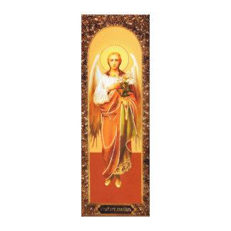 Toile Russian icône Archangel Gabriel Wrapped Canvas