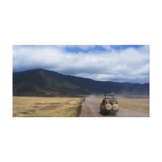 Toile Safari de l'Afrique