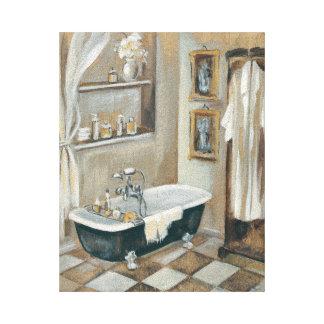Toile Salle de bains française neutre