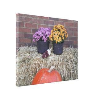 Toile Scène d'automne de récolte de thanksgiving