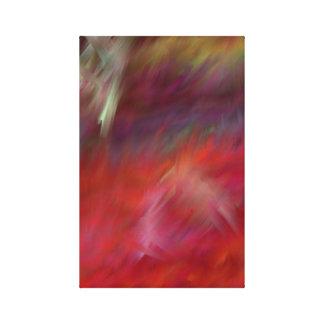 Toile Sentez l'art moderne d'Abstact de chaleur
