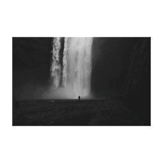 Toile Seulement à la cascade