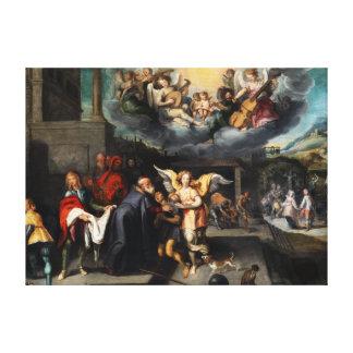 Toile Simon de Vos Return du fils prodigue
