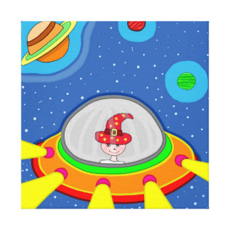 Toile Simon et son vaisseau spatial