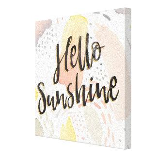Toile Soleil de la brise II | de pré bonjour