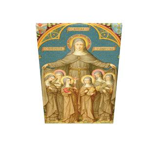 Toile St Clare d'Assisi et d'extra large des nonnes (SAU