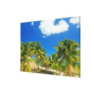 Toile Station balnéaire tropicale, Belize
