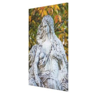 Toile Statue de la sirène de Loreley