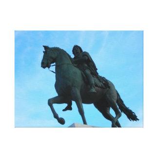 Toile Statue de Louis XIV 60.96x45.72cm, 3.81cm