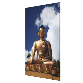 Toile Statue se reposante de Bouddha