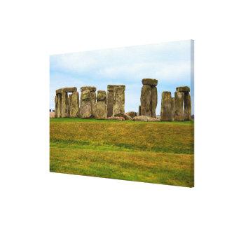Toile Stonehenge pittoresque, Angleterre