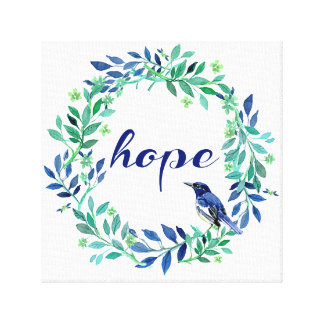 Toile Style de zen de citation d'espoir