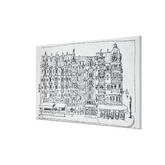 Toile Style | Lille, France de Haussmann