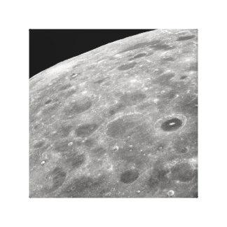 Toile surface lunaire