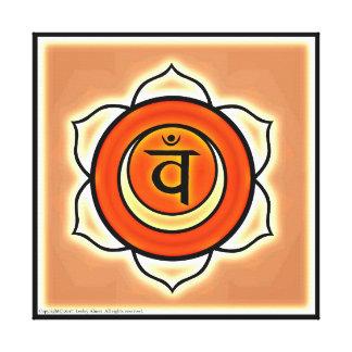 Toile Symbole sacré de Chakra