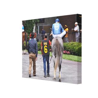 Toile Tapceptional - course de chevaux de fer
