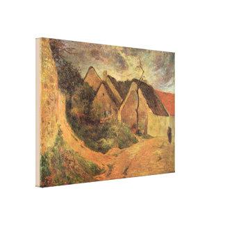 Toile Temps orageux d'Osny de beaux-arts par Paul