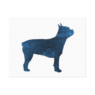 Toile Terrier de Boston