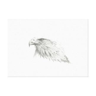 Toile Tête d'Eagle