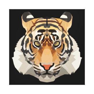 Toile Tigre le roi