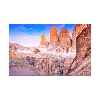 Toile Torres del paine Chili