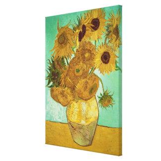 Toile Tournesols de Vincent van Gogh |, 1888