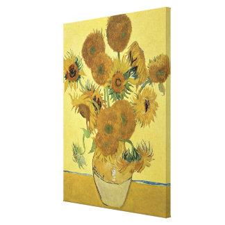 Toile Tournesols de Vincent van Gogh  , 1888