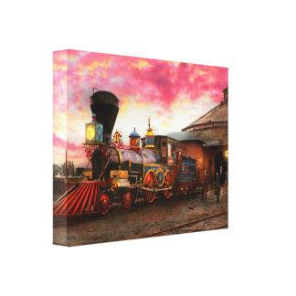 Toile Train - le JH Devereux 1862